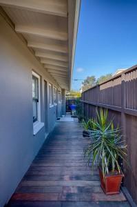 sideyard deck