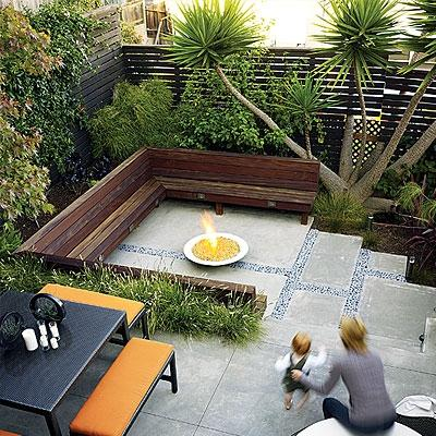 Yard Design Ideas 500 square foot urban oasis Small Yard Design Ideas